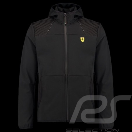 Ferrari Hoodie Jacke Softshell Schwarz Ferrari Motorsport Collection - Herren