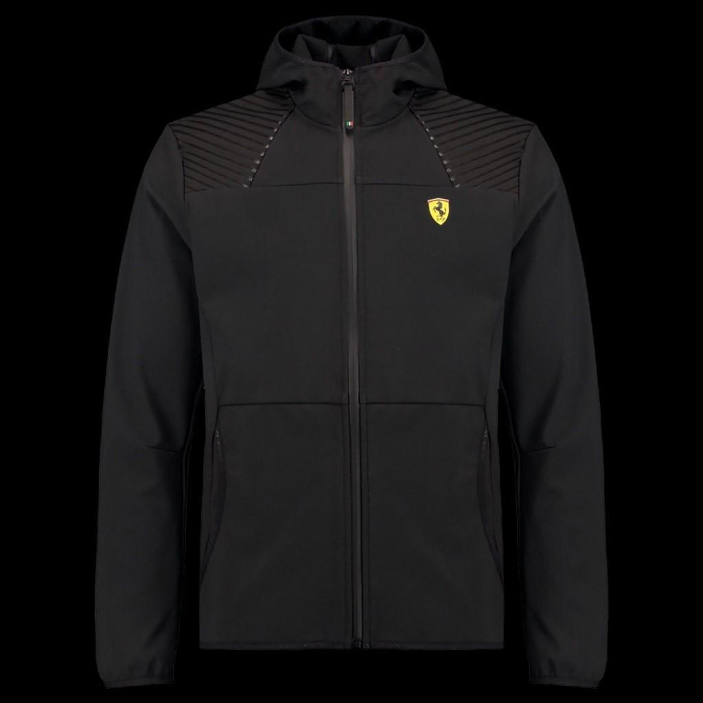 Ferrari Hoodie Jacket Softshell Black Ferrari Motorsport Collection Men Selection Rs