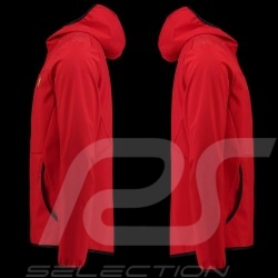 Ferrari Hoodie Jacket Softshell Red Ferrari Motorsport Collection - men