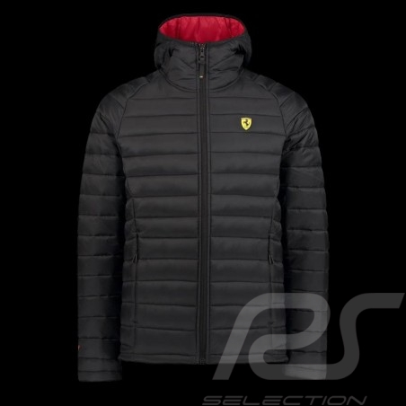 Ferrari padded Jacket Black Ferrari Motorsport Collection - men