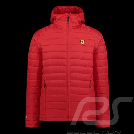 Ferrari padded Jacket Red Ferrari Motorsport Collection - men