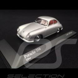 Porsche 356 pré A Ferdinand 1950 grau 1/43 Minichamps 400069220
