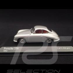 Porsche 356 pré A Ferdinand 1950 gris 1/43 Minichamps 400069220