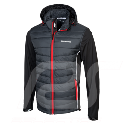 Mercedes AMG quilted Softshell jacket Selenite grey Mercedes-Benz B66957495 - homme