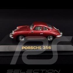 Porsche 356 A Coupé 1955 rot 1/43 Yat Ming 94243-D