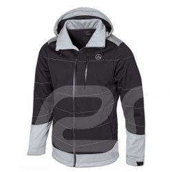Veste Jacket Jacke Mercedes Softshell Gris / Noir Mercedes-Benz B66958696 - homme