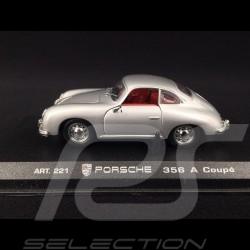 Porsche 356 A Coupé 1955 gris argent 1/43 DetailCars 221