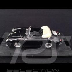 Porsche 356 C Spyder Cabriolet 1965 noir 1/43 Brumm R224