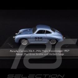 Porsche 356 A n° 225 Vainqueur de classe Mille Miglia 1957 1/43 Schuco 02505