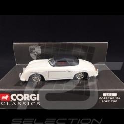 Porsche 356 A 1955 white soft top 1/43 Corgi Classics 03701