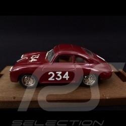 Porsche 356 n° 234 Mille Miglia 1952 1/43 Brumm R120