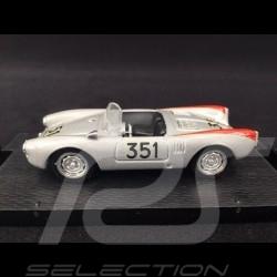 Porsche 550 Spyder n° 351 Mille Miglia 1954 1/43 Brumm R195