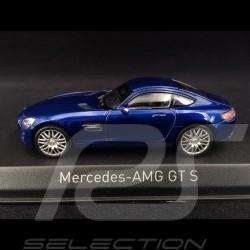 Mercedes-AMG GT S 2015 blau 1/43 Norev 351348