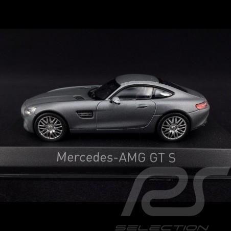 Mercedes-AMG GT S 2015 gris mate 1/43 Norev 351350