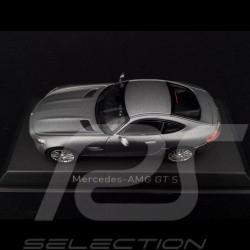 Mercedes-AMG GT S 2015 matt grau 1/43 Norev 351350