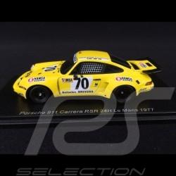 Porsche 911 Carrera RSR 3.0 n° 70 Le Mans 1977 1/43 Spark S7512