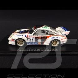 Porsche 911 RSR typ 993 n° 84 Perspective Racing Le Mans 1999 1/43 Spark S4449