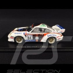 Porsche 911 RSR type 993 n° 84 Perspective Racing Le Mans 1999 1/43 Spark S4449