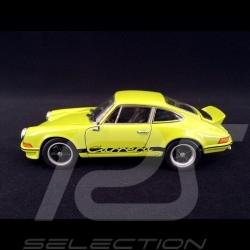 Porsche 911 Carrera RS 2.7 1973 vert tilleul / noir 1/24 Welly MAP02482118 lime green lindgrun black schwarz