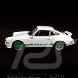 Porsche 911 Carrera RS 2.7 1973 Grand Prix white / green 1/24 Welly MAP02482218