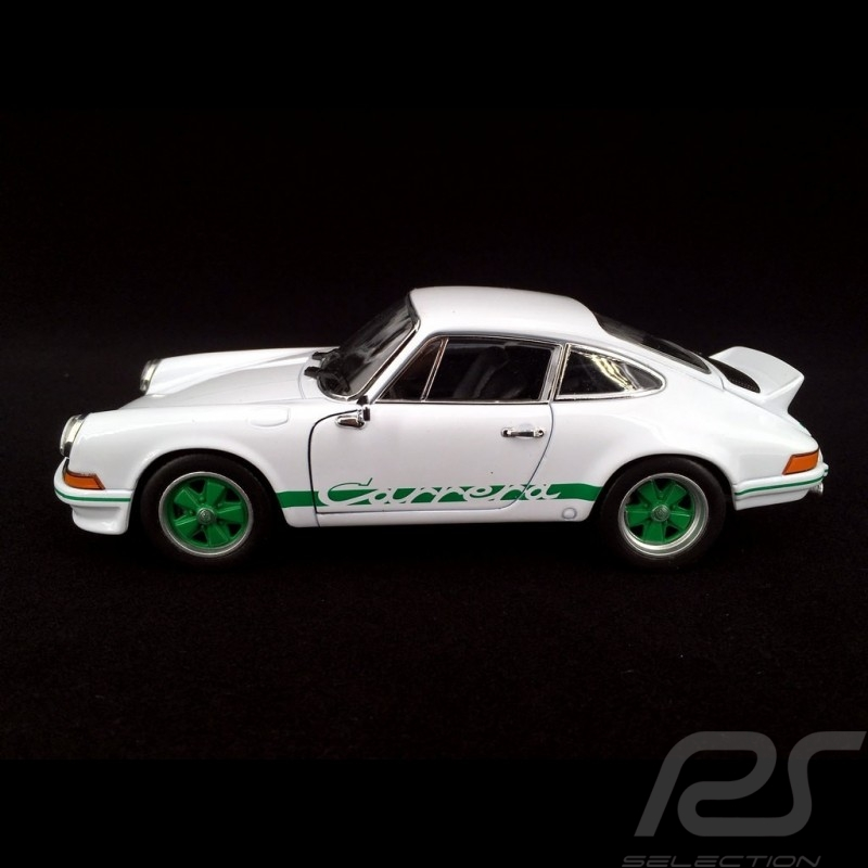 Porsche 911 Carrera RS 2.7 1973 blanc Grand Prix / vert 1/24 Welly MAP02482218 Grand Prix white / green Grand Prix weiß / grûn