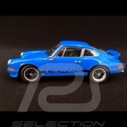 Porsche 911 Carrera RS 2.7 1973 bleu glacis / noir 1/24 Welly MAP02482318 glaze blue / black glasurblau / schwarz
