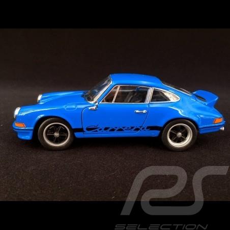 Porsche 911 Carrera RS 2.7 1973 glaze blue / black 1/24 Welly MAP02482318