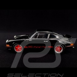 Porsche 911 Carrera RS 2.7 1973 black / red 1/24 Welly MAP02482418