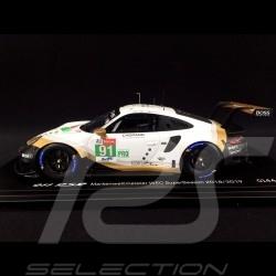 Porsche 911 RSR type 991 24h Le Mans 2019 n° 91 Porsche GT Team 1/18 Spark WAP0211480LRSR