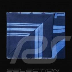Echarpe Porsche Design Element Bleu marine Pure laine Porsche Design 4046901690052 scarf navy blue schal marineblau