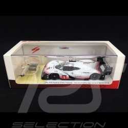 Porsche 919 Hybrid EVO Tribute n° 1 Nürburgring Lap record 06/29/2018 with Timo Bernhard figurine 1/43 Spark S5847