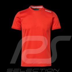 T-shirt Porsche Design Performance rouge red rot Porsche Design Core Tee - homme