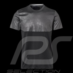 Porsche Design T-shirt Performance Asphaltgrau / Schwartz Porsche Design Colourblock Tee - Herren