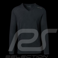 Pull Porsche Design Performance noir Porsche Design Merino Wool Top Sweater pullover homme