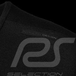 Porsche Design sweater Performance Black Porsche Design Merino Wool Top- men