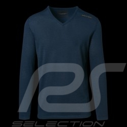 Porsche Design sweater Performance Navy blue Porsche Design Merino Wool Top- men