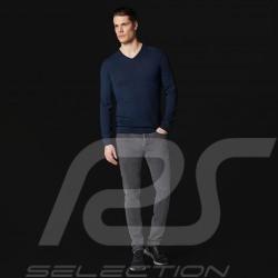 Porsche Design sweater Performance Navy blue Porsche Design Merino Wool Top- men