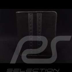 Gulf racing Geldbeutel Brieftasche und Kartenhalter schwarz Leder