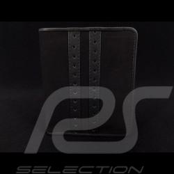 Portefeuille Gulf racing Porte monnaie et porte cartes Cuir noir wallet Geldbeutel