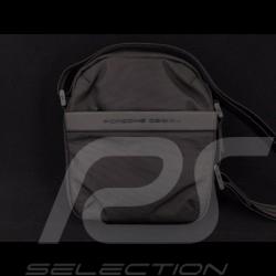 Sac Porsche Design Sacoche mince à bandoulière Cargon Nylon Noir Porsche Design 4046901912536 Shoulder bag Tasche