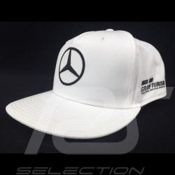 Casquette MERCEDES AMG PETRONAS MOTORSPORT Lewis Hamilton blanche cap kappe