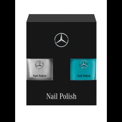 Vernis à ongles Mercedes 2 couleurs Vert et argent par LCN Mercedes-Benz B67996159 BNails varnish nagellack