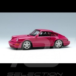Porsche 911 type 964 Carrera RS NGT 1992 Rubystone red 1/43 Make Up Vision VM142B