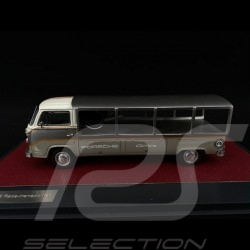 VW Bulli T2 transporter Porsche 1976 grau 1/43 Matrix MX42105-041