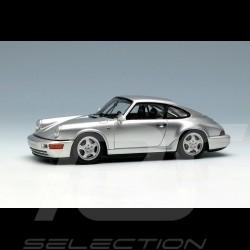 Porsche 911 typ 964 Carrera RS NGT 1992 Silbergrau metallic 1/43 Make Up Vision VM142D