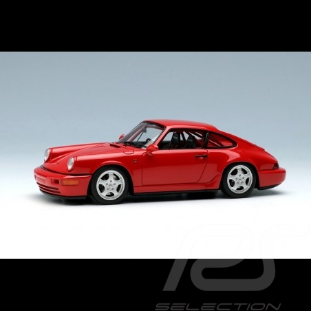 Porsche 911 type 964 Carrera RS NGT 1992 Guards red 1/43 Make Up Vision VM142E