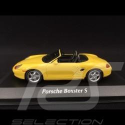 Porsche Boxster S 1999 jaune 1/43 Minichamps 940068030