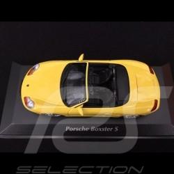 Porsche Boxster S 1999 yellow 1/43 Minichamps 940068030