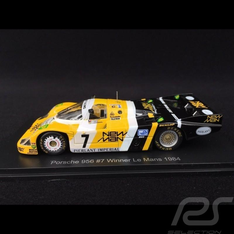 Porsche 956 Winner Le Mans 1984 n° 7 Newman 1/43 Spark Diecast