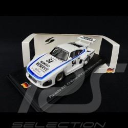 Porsche 935 K3 n° 54 Winner DRM Zolder Bergischer Löwe 1979 1/43 Spark SG506